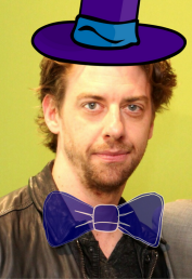 Christian Borle as Willy Wonka (artist's rendering)